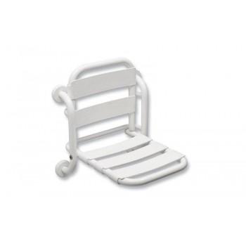Idral sedile doccia ribaltabile fisso con schienale Easy
