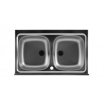 Lavello Inox doppia vasca Colavene
