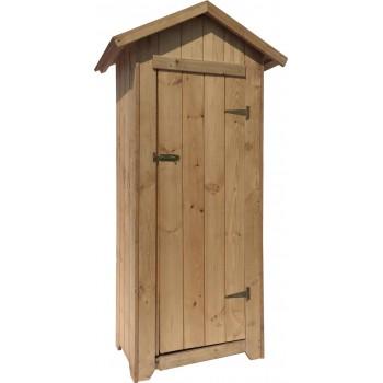 Armadio 1 da esterno 63x48x180h cm in legno