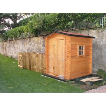 Pircher casetta Lilly Blockhouse in legno di abete