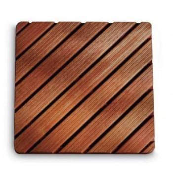 Pedana doccia in legno 52x67 cm