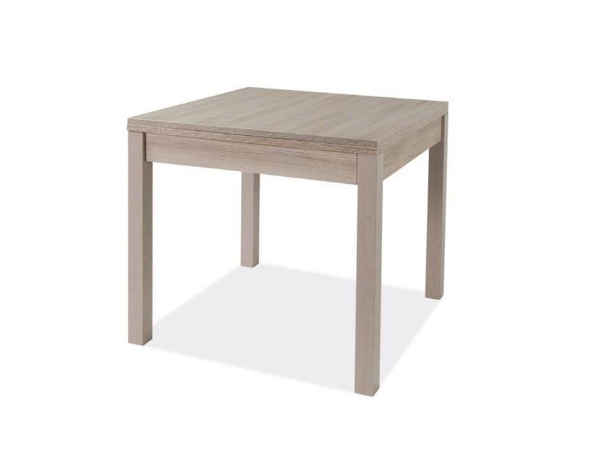 Tavolo Quadrato 90x90 Allungabile.Tavolo Firenze 90x90 Cm Allungabile Olmo