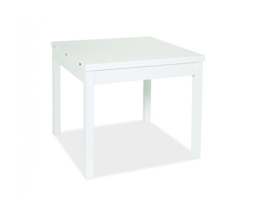 Tavolo 90 X 90 Allungabile Bianco.Tavolo Firenze 90x90 Cm Allungabile Bianco