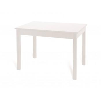 Tavolo Firenze 120x80 cm allungabile bianco frassinato