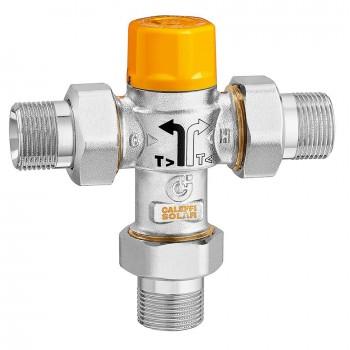 Caleffi valvola deviatrice termostatica per impianti solari 2620