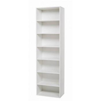 Colonna 60x210 in legno bianco, larice grigio o olmo senza ante