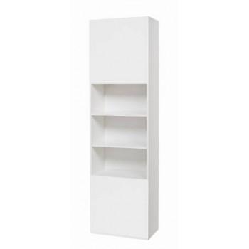 Colonna 60x210 in legno bianco, larice grigio o olmo con ante