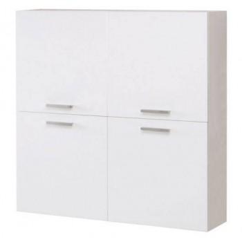 Pensile 120 in legno bianco, larice grigio o olmo