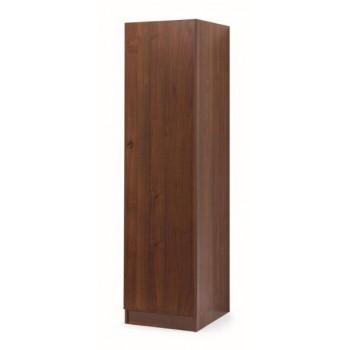 Colonna armadio 45x180 in legno noce antico