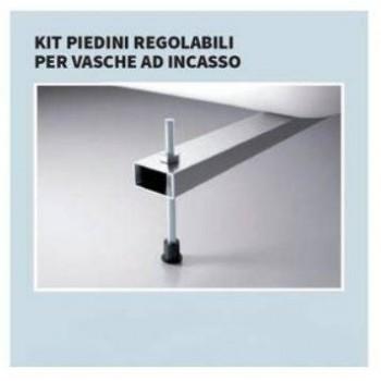 Novellini kit piedini regolabili per vasche ad incasso