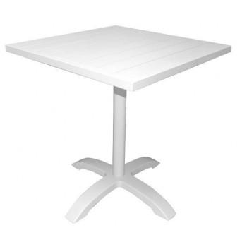 Tavolo Calipso 70x70 bianco