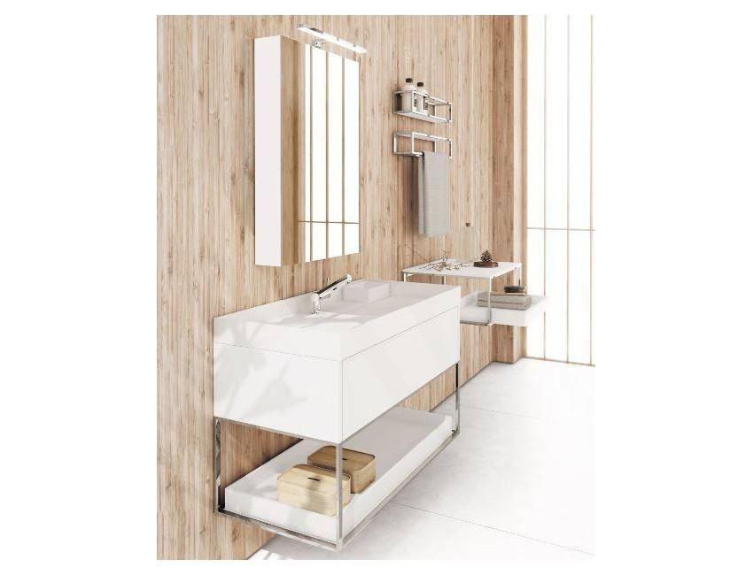 Cosmic mobile con lavabo 80 bianco satinato The Grid