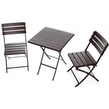 Set Plastik Wood 60 in HDPE con tavolo e 2 sedie