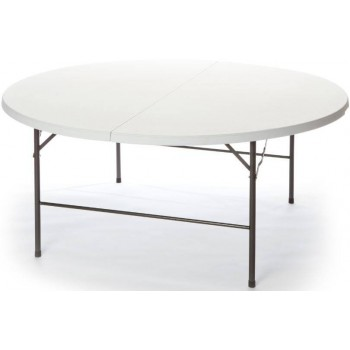 Tavolo Plastik 180 in ferro e HDPE