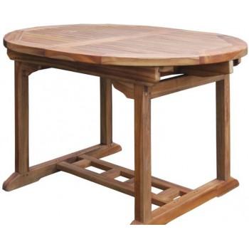 Tavolo Dumai 120x100 cm allungabile in legno Teak