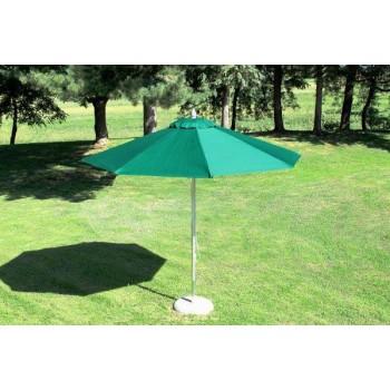 Guidetti ombrellone Santorini rotondo 300/8 verde