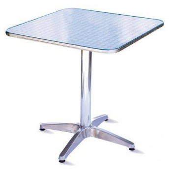 Guidetti tavolino Ancona 70x70 in alluminio