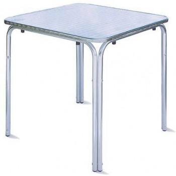 Guidetti tavolo Chieti 70x70 in alluminio