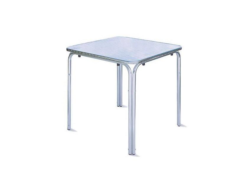 Tavolo In Alluminio Per Esterno.Guidetti Tavolo Chieti 70x70 In Alluminio Colore Alluminio