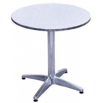 Guidetti tavolino Roseto in alluminio rotondo 60 cm