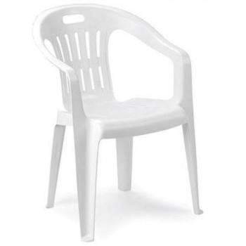 Guidetti Set 4 sedie monoblocco in plastica