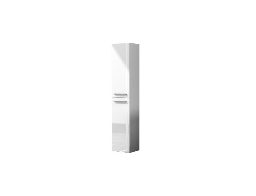 Colonna bagno sospesa 2 ante laccata bianco frassino 305465BO