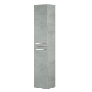 Colonna bagno sospesa 2 ante Cemento