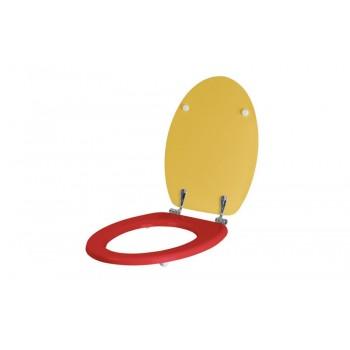 Sedile serie KIDS rosso/Giallo per vasi