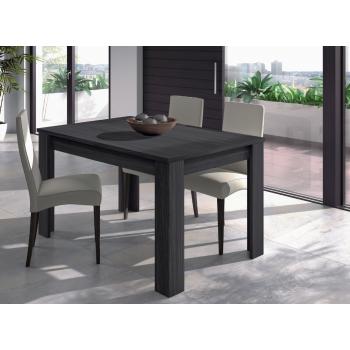 Tavolo 140 cm grigio cenere allungabile