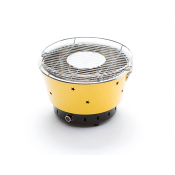 Barbecue portatile a carbonella Quick con ventola elettrica