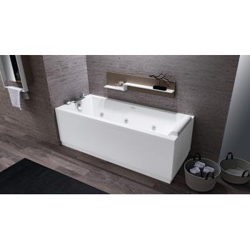 Novellini vasca da bagno Calos 2.0 su telaio con 2 pannelli
