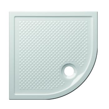 Globo Piatto doccia angolare 80x80 cm spessore 6,5 cm