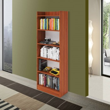 Libreria Alessia 180 cm Noce Country