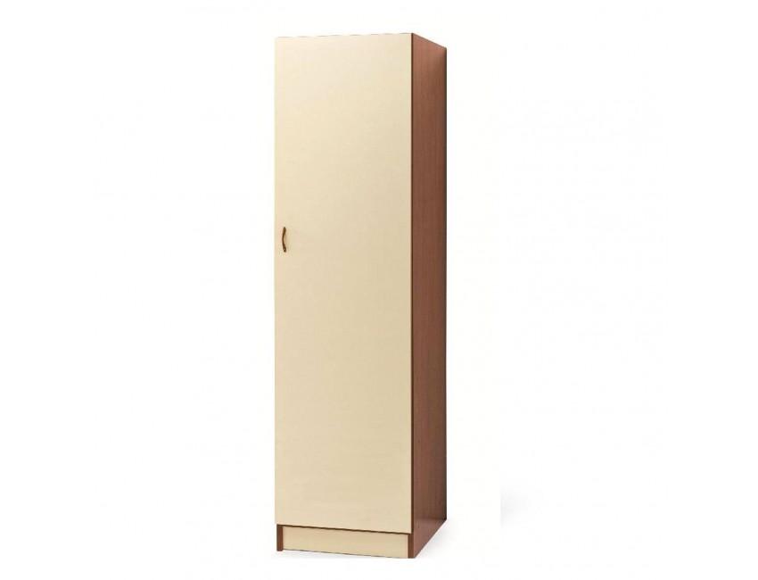 Armadio 180 cm in legno Bianco Frassinato con un\'anta