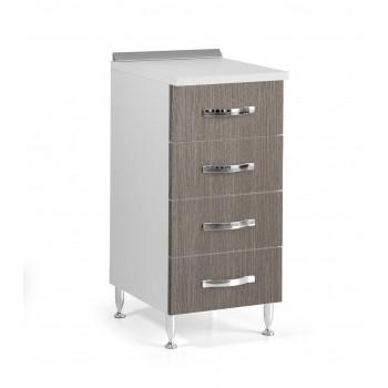 Base cassettiera cucina 40x50xH85 in legno