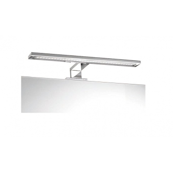 Mobile bagno a terra 80 cm bianco lucido con specchio