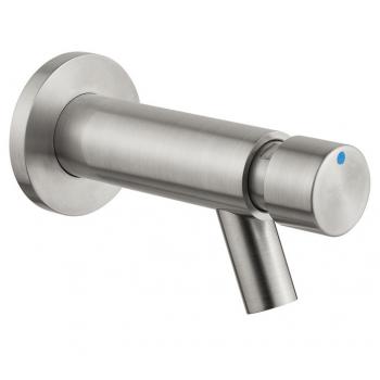 Idral rubinetto temporizzato lavabo a parete Inox 08400