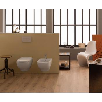 Bidet sospeso monoforo 38x55 cm in ceramica Globo serie Bowl+