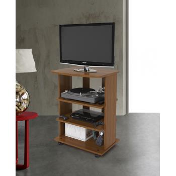 Mobile porta Tv Elide 60x45xh81 cm Noce