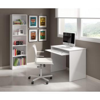 Scrivania 90x54 cm Bianco...