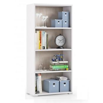 Libreria 130 cm Bianco...