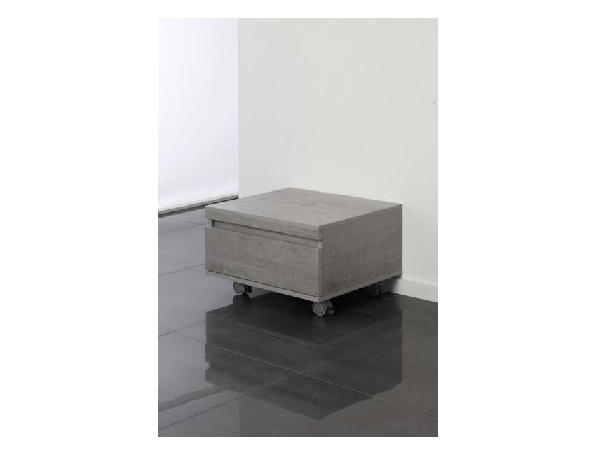 mobile bagno cassettiera su ruote 1 cassetto cemento arredo bagno - Cassettiera Arredo Bagno