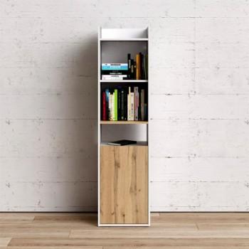 Libreria 154 cm Bianco...