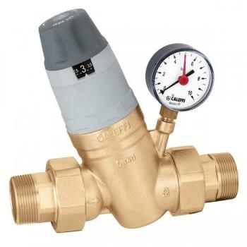 Caleffi riduttore di pressione preregolabile 5350 manometro