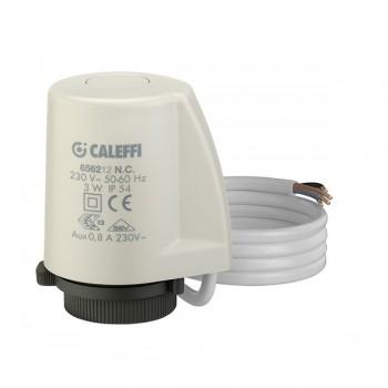 Caleffi comando elettrotermico con microinterruttore ausiliario 6562