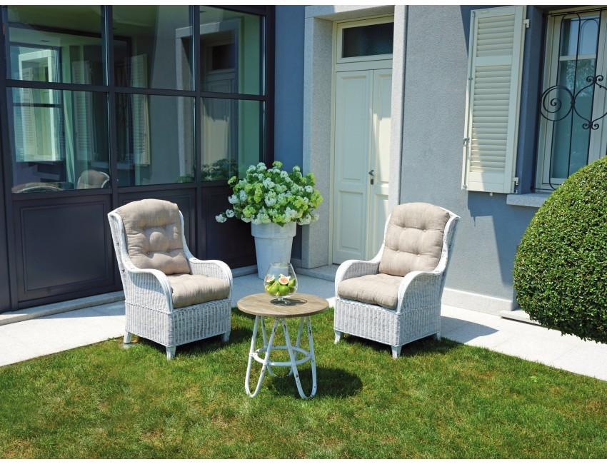 Set agra salotto esterno giardino poltrone tavolino for Salotto esterno