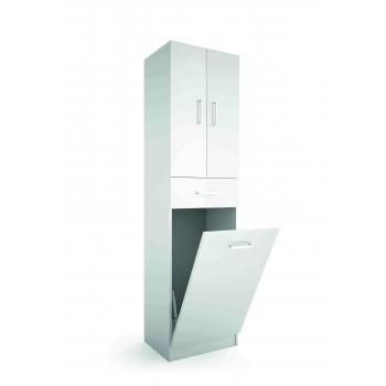 Mobile bagno a colonna bianco 480 mm laundry
