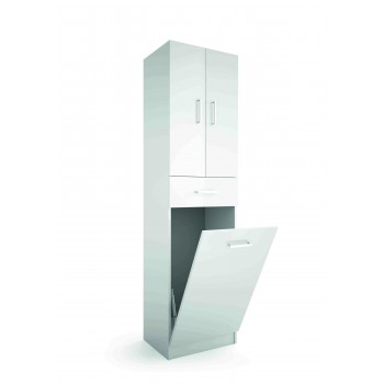 MOBILE BAGNO A COLONNA BIANCO 480 MM LAUNDRY