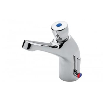 Idral miscelatore temporizzato lavabo con pulsante Classic 08012