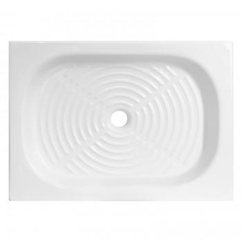 Piatto doccia Olimpo 80x60 azzurra ceramica